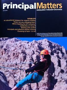 Principal Matters Magazine cover shot
